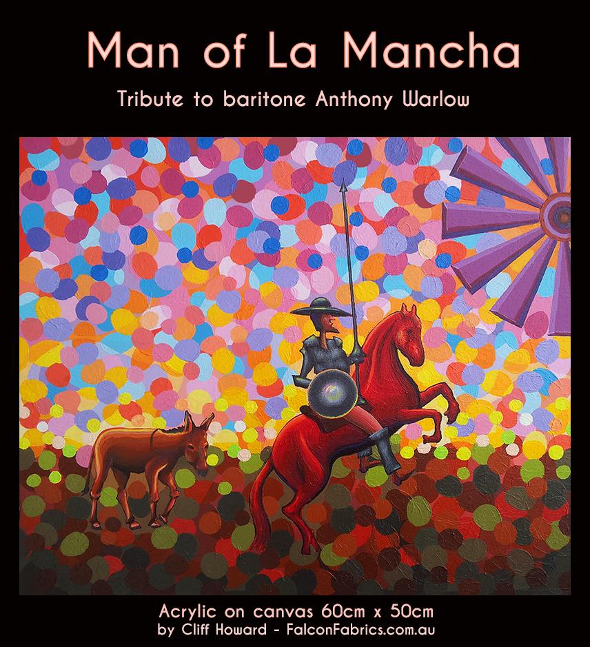Man of La Mancha - 60cm x 50cm