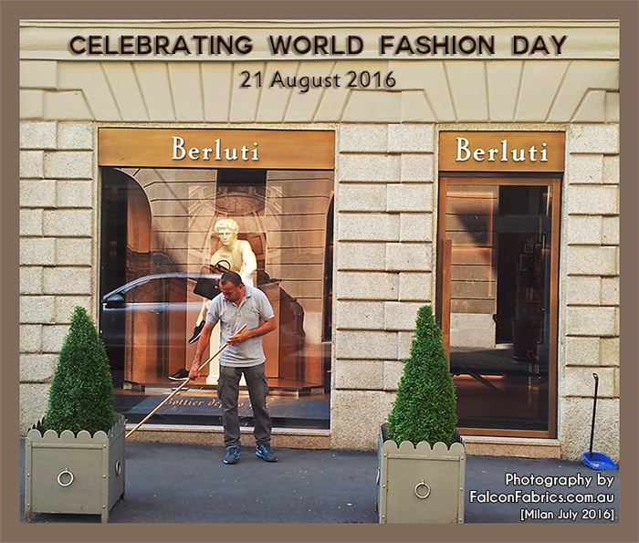 World Fashion Day, 21 August