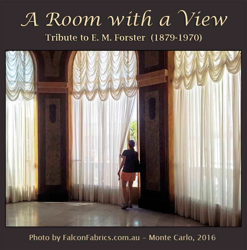 E. M. Forster wrote 'A Room with a View' in 1908. Photography #CliffHoward