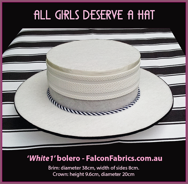 Bolero and Guacho hats by #CliffHowardArtist for #FalconFabrics.com.au