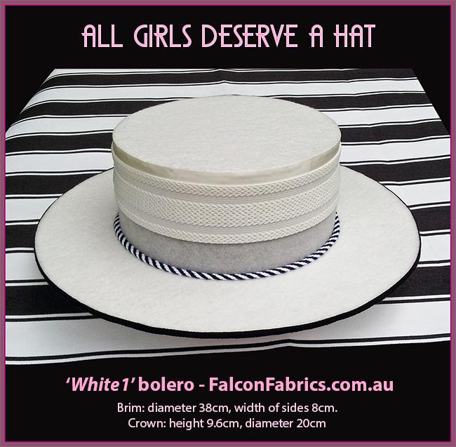 Bolero and Guacho hats by #CliffHowardArtist for #FalconFabrics.com.au