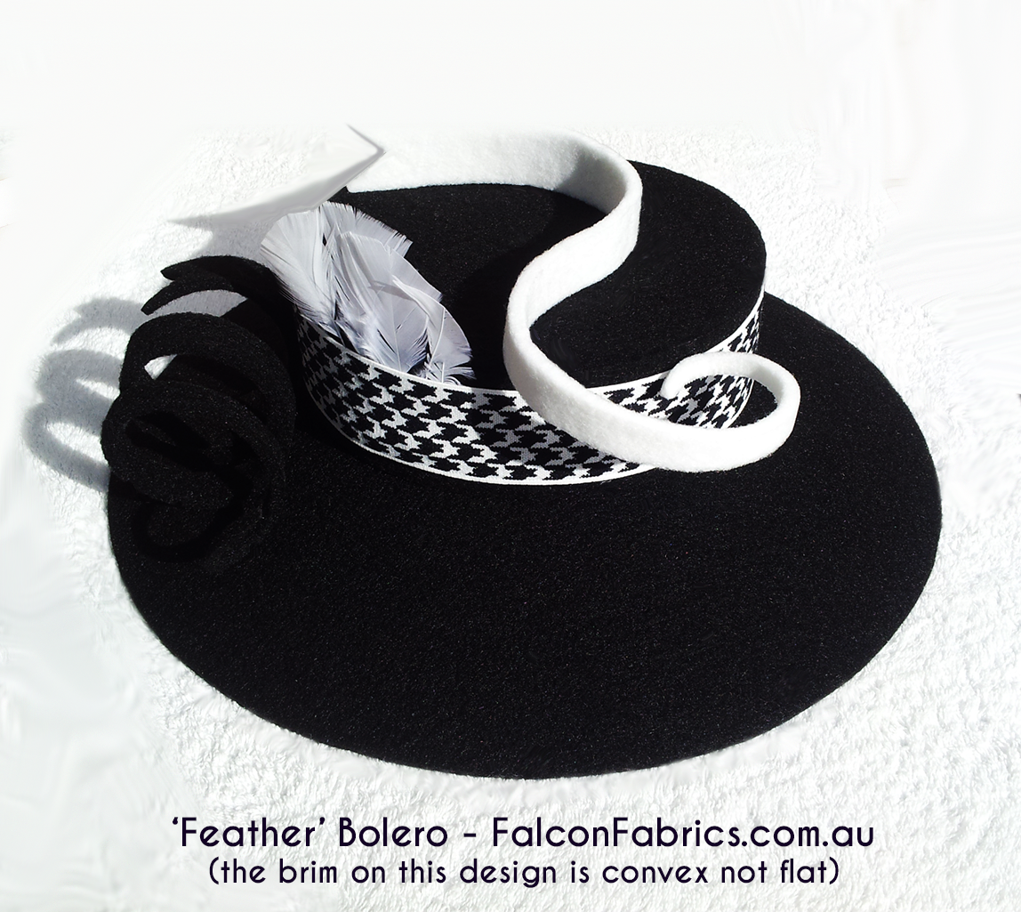 Australian handmade Bolero / Gaucho hats. Accessories vary. #CliffHowardArtist