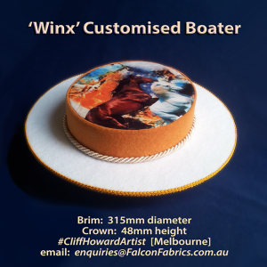 Boaters couture headwear millinery SpringRacingCarnival hats chapeaux cappelli écharpes style FlemingtonVRC headpiece CliffHowardArtist RoyalAscot TheDerby MelbourneCup fashiononthefield LondonHatWeek