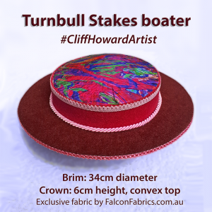 Boaters couture headwear millinery SpringRacingCarnival hats chapeaux cappelli écharpes style FlemingtonVRC headpiece CliffHowardArtist RoyalAscot TheDerby MelbourneCup #TurnbullStakes fashiononthefield LondonHatWeek