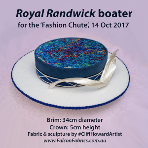Boaters couture headwear millinery SpringRacingCarnival hats chapeaux cappelli écharpes CliffHowardArtist RoyalAscot TheDerby MelbourneCup fashiononthefield LondonHatWeek fashion style vintage celebrities Randwick