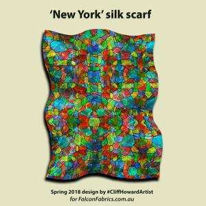silk silkscarves CliffHowardArtist fashion Australia couture accessories
