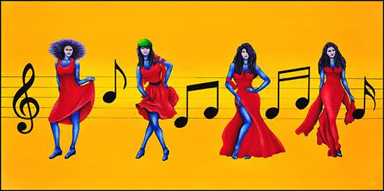 o-red-dresses